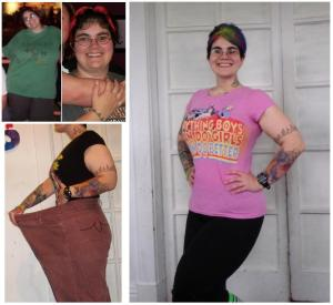 The top left pictures were taken close to my heaviest weight...the bottom left was taken in January.  The right picture was taken in March (about a month before I hit my lowest weight of 176).